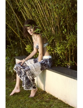 Long Skirt Leopard Salomé