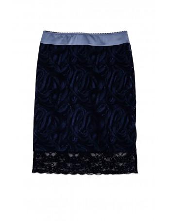 Jupe bleu / noir