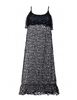 Robe longue dentelle Inès