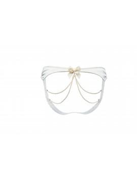 Culotte ouverte derrière perles de Swarovski Vienne