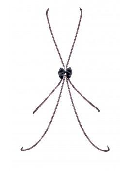 Bijou de corps en perles de Swarovski Tracy